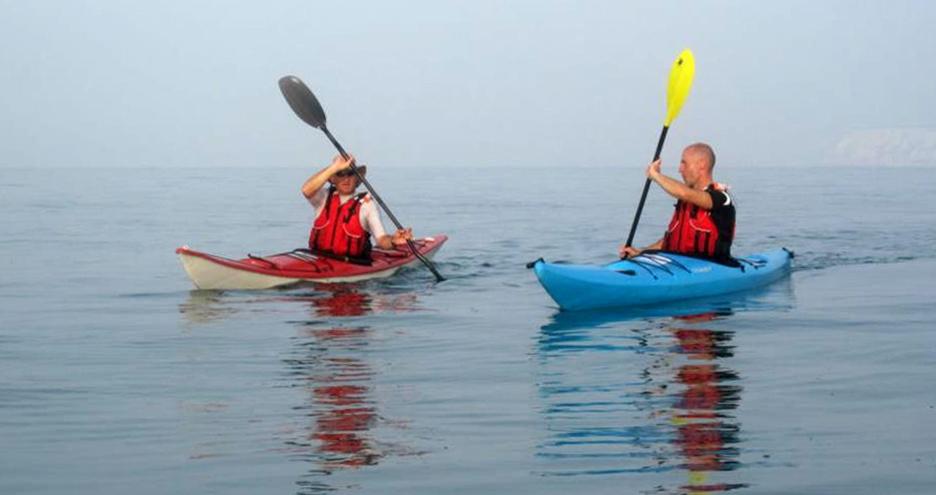Sea Kayaking around the Isle of Wight